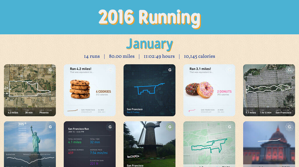 Running 2016 screenshot
